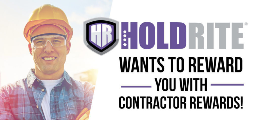 holdrite contractor rewards