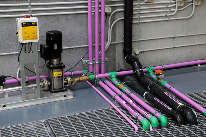 aquatherm lilac pipe