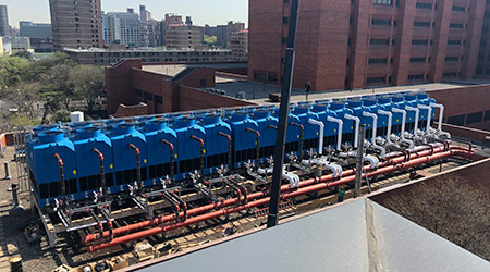 cooling towers, diseases in water systems