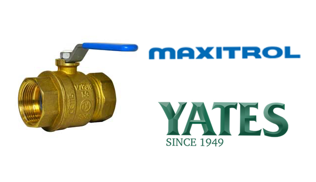maxitrol ball valves