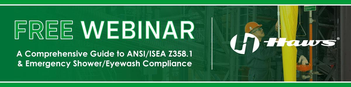 Free ANSI/ISEA Webinar Presented by Haws